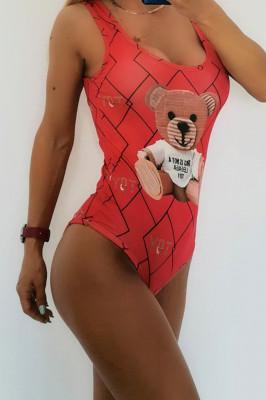 Body - costum de baie LYS Toy Rosu
