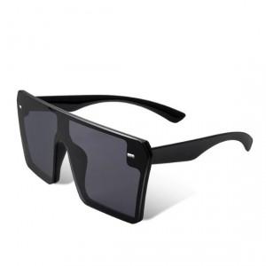 Ochelari de soare D3 mari patrati Oversized negri