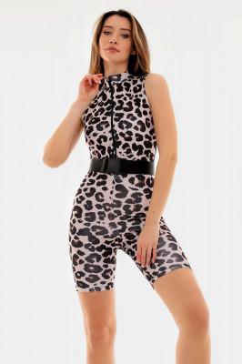 Salopeta scurta Naira leopard
