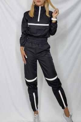 Compleu sport Intense Black Shock pantaloni si bluza