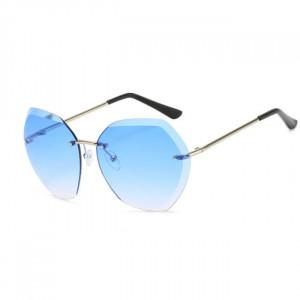 Ochelari de soare Hexagon bleu