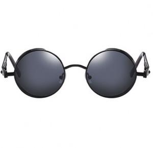 Ochelari de soare Vanity Black model rotund unisex