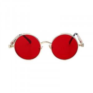 Ochelari de soare Vanity Red model rotund unisex