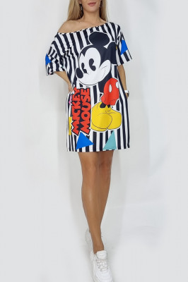 Rochie tricou Mickey Mouse
