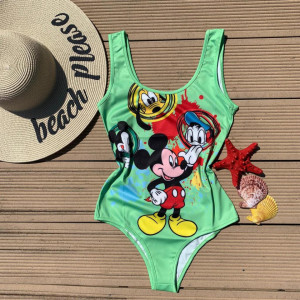 Body - costum de baie LYS Green Mickey