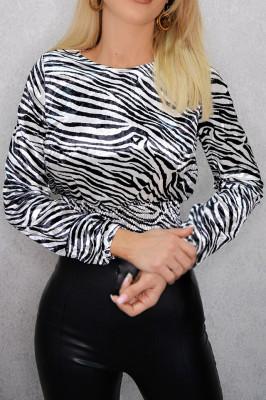 Camasa dama Zebra