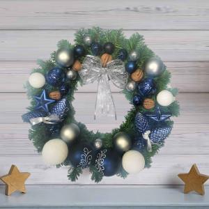 Coronita decorativa pentru usa, handmade, 38 cm