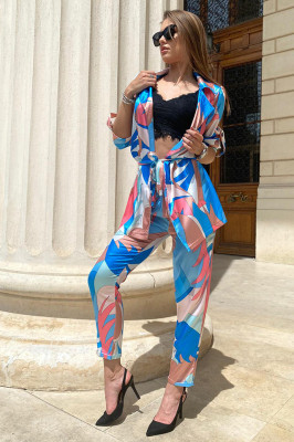 Costum dama Lorena Vibes pantaloni si sacou