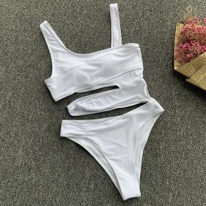 Costum de baie intreg Summer alb