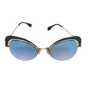 Ochelari de soare ochi de pisica Love Cats Bleu