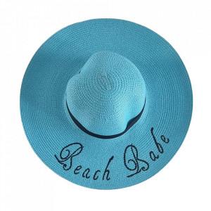 Palarie de plaja pentru femei bleu Beach Babe