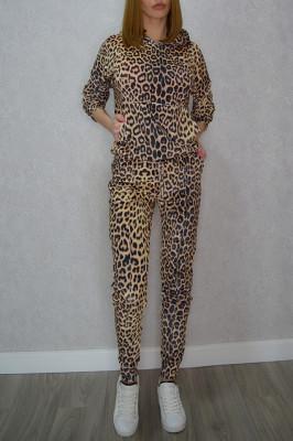 Trening din catifea Alice, leopard