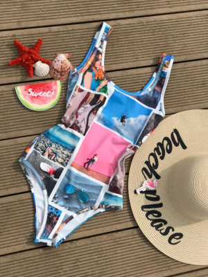 Body - costum de baie LYS Vog, multicolor