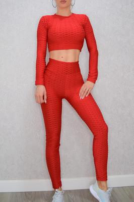Compleu Fitness Ruby rosu