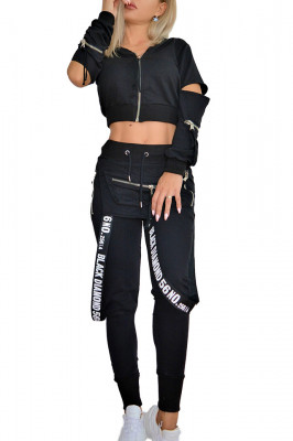 Compleu sport Black Diamond pantaloni si hanorac