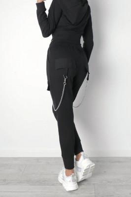 Pantaloni sport More Rock, Black