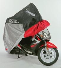"""OXFORD - HUSA MOTO """"RAINEX"""" S - NEGRU / ARGINTIU"""