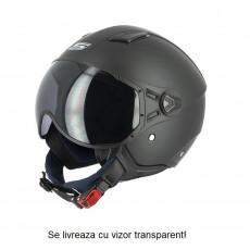 SIFAM - Casca Open-face S-LINE S779 - NEGRU MAT, S