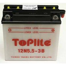 TOPLITE YUASA - 12N5,5-3B (CU INTR., NU INCL. ACID)