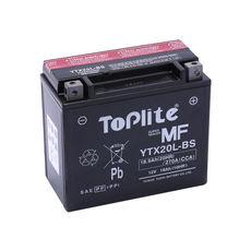 TOPLITE YUASA - YTX20L-BS (FARA INTR., INCL. ACID)