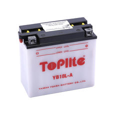 TOPLITE YUASA - YB18L-A (CU INTR., NU INCL. ACID)