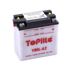 TOPLITE YUASA - YB9L-A2 (CU INTR., NU INCL. ACID)