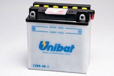 UNIBAT - 12N94B1 (12N9-4B-1) (CU INTRETINERE, FARA ACID)