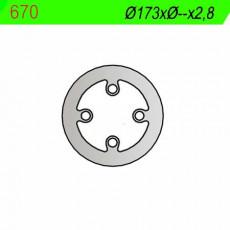 NG - DISC FRANA NG670 - SHERCO 50 / 80 '03-'06