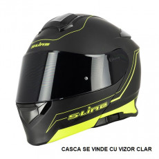 SIFAM - Casca Flip-up S-LINE S550 - NEGRU/GALBEN, L