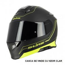 SIFAM - Casca Flip-up S-LINE S550 - NEGRU/GALBEN, S