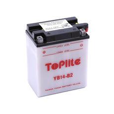 TOPLITE YUASA - YB14-B2 (CU INTR., NU INCL. ACID)