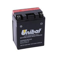 UNIBAT - CBTX14AH-BS (YTX14AH-BS) (FARA INTRETINERE, INCLUDE ACID)