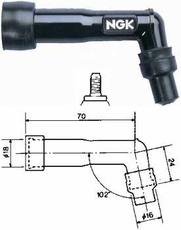 NGK - PIPA BACHELITA - XB01F