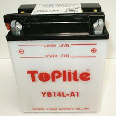 TOPLITE YUASA - YB14L-A1 (CU INTR., NU INCL. ACID)