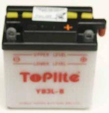 TOPLITE YUASA - YB3L-B (CU INTR., NU INCL. ACID)