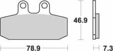 SBS - PLACUTE FRANA STREET CERAMIC - 588HF = 108HF