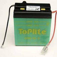 TOPLITE YUASA - 6N6-1D-2 (CU INTR., NU INCL. ACID)