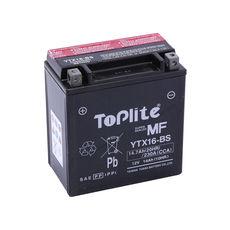 TOPLITE YUASA - YTX16-BS (FARA INTR., INCL. ACID)
