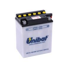 UNIBAT - CB14LB2-SM (YB14L-B2) (CU INTRETINERE, INCLUDE ACID)