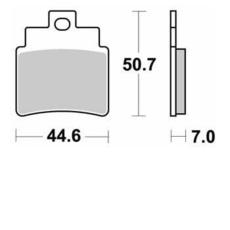 SBS - PLACUTE FRANA SCOOTER CERAMIC - 171HF = 775HF