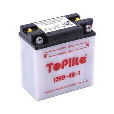 TOPLITE YUASA - 12N9-4B-1 (CU INTR., NU INCL. ACID)