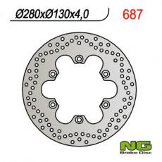 NG - DISC FRANA NG687001 / NG687 - ER-5 / GPZ900