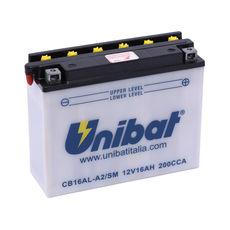 UNIBAT - CB16ALA2-SM (YB16AL-A2) (CU INTRETINERE, INCLUDE ACID)