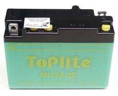 TOPLITE YUASA - 6N12A-2D (CU INTR., NU INCL. ACID)