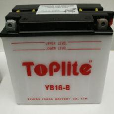 TOPLITE YUASA - YB16-B (CU INTR., NU INCL. ACID)