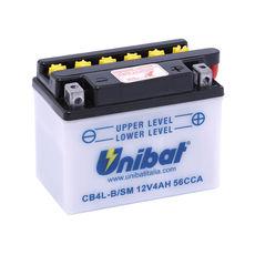 UNIBAT - CB4LB-SM (YB4L-B) (CU INTRETINERE, INCLUDE ACID)