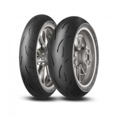 DUNLOP - SET SPORTMAX GP RACER D212: 120/70-17 (58W) M + 190/55-17 (75W) E (DU634635 + DU634591)