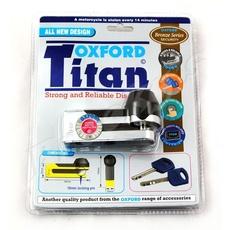 """OXFORD - LACAT DISC """"TITAN"""" - PIN 10MM - CROM"""