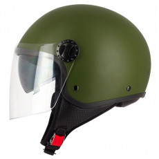 SIFAM - Casca Open-face S-LINE S706 - GREEN ARMY, XS