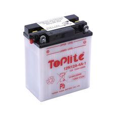 TOPLITE YUASA - 12N12A-4A-1 (CU INTR., NU INCL. ACID)